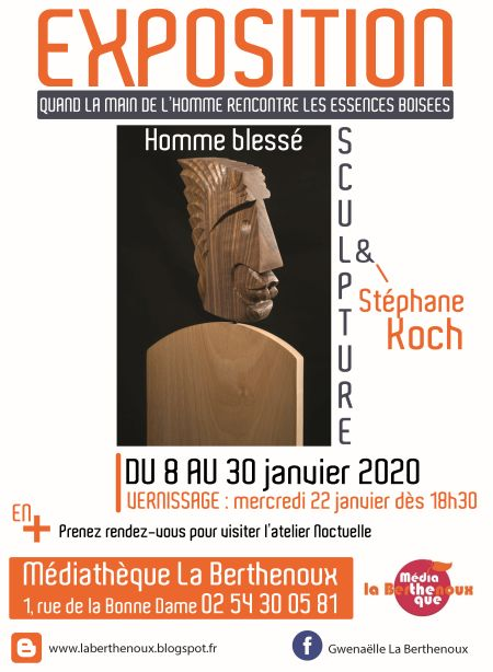 Affiche expo sculpture 080120